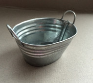 Tin Wash Bowl