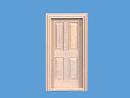 Small Four Panel Cottage Door