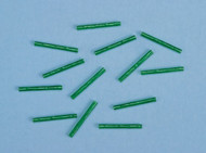 Green Heat Shrink Tubes / pack of 12