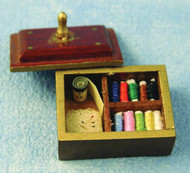 Sewing Box With Accessories