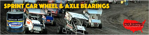 Sprint Car Wheel And Axle Bearings