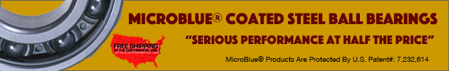 MicroBlue Steel Ball Bearings