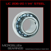 "UC 206-20 1.25"" Steel Axle Bearing"