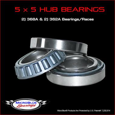 5 x 5 Wheel Bearing Set