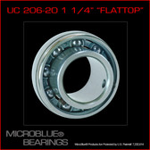 UC 206-20 25mm Steel Axle Bearing