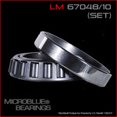 LM 67048/LM 67010 TAPERED BEARING SET