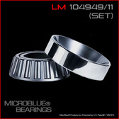 LM104949/LM104911 TAPERED BEARING SET