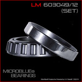LM 603049/LM 603012 TAPERED BEARING SET