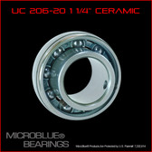 "UC 207-20 ""Large"" 1.25"" Ceramic Axle Bearing"