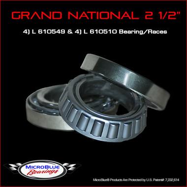 "Grand National 2 1/2"" Wheel Bearings"