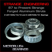 Strange Forged Aluminum Strut Bearings (LM11949/10 & LM67048/10)