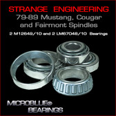 Strange 79-89 Mustang,Cougar & Fairmont Bearings