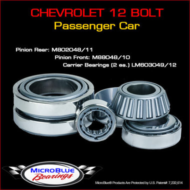Chevrolet 12 Bolt Differential Bearing Kit
