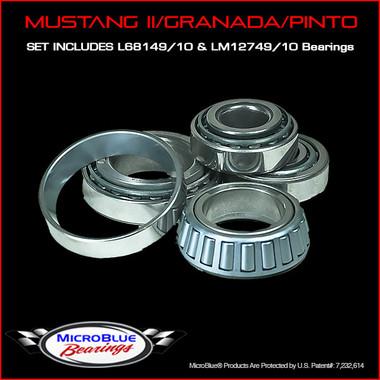 Complete Bearing Kit For Mustang II/Granada/Pinto Hubs
