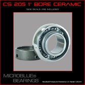 "KH 205-1"" Bore Ceramic Bearing w/ Locking Collar"