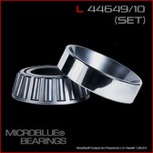 L 44649/L 44610 TAPERED BEARING SET