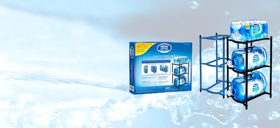 Modular Bottle Racks  sc 1 th 152 & Zephyr Fluid Solutions 5 Gallon Water Bottle Racks