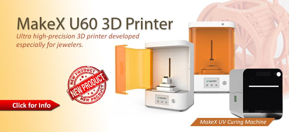MakeX U60 3D Printer