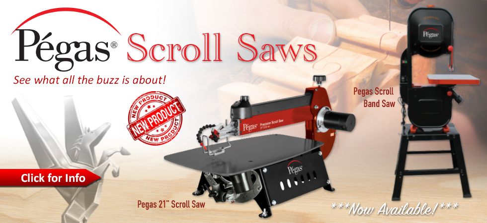 Pegas Scroll Saws