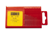 Drill Set, Dormer Brand, 20 pcs., Sizes 61 to 80, Item No. 28.0540
