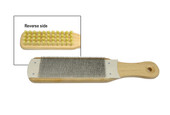 "File Cleaner with Brush, 10"" in length, Item No. 33.979"
