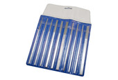 10-piece Diamond Coated Tapered File Set, Item No. 33.947