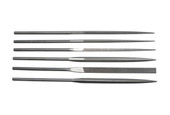 Teborg 6-pce Needle File Set, Medium, Item No. 33.906