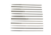 Grobet USA Escapement File, 12-pc Set, Cut 2, Item No. 31.770