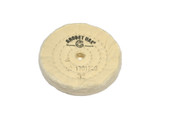 "Muslin Buff for Vigor Multi-Grinder, 3"" x 45 Ply, Item No. 17.01220"