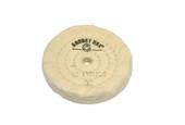 "Muslin Buff for Vigor Multi-Grinder, 3"" x 45 Ply, Item No. 17.01220"
