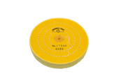 "Yellow Chemkote Buff, 6"" x 60 Ply, Shellac Center, Item No. 17.545"