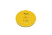 "Yellow Chemkote Buff, 5"" x 30 Ply, Shellac Center, Item No. 17.54003"