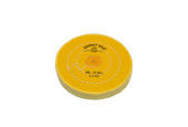 "Yellow Chemkote Buff, 5"" x 50 Ply, Shellac Center, Item No. 17.541"