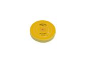 "Yellow Chemkote Buff, 4"" x 40 Ply, Shellac Center, Item No. 17.553"