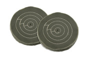 "Green Polishing Buff, 4"" x 40 Ply, Item No. 17.597"