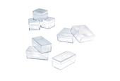 """Small Plastic Storage Box, 1-1/8"""" x 1-1/8"""" x 3/4"""", Item No. 15.129"""