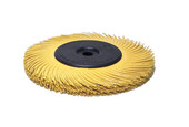"3M 3-Radial Bristle Discs, 6"" Diameter, 800 Grit, Yellow, Item No. 10.3531"