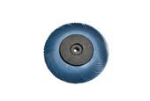"""3M 3-Radial Bristle Discs, 6"""" Diameter, 400 Grit, Blue, Item No. 10.3534"""