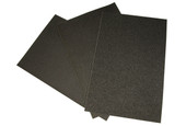 "Emery Paper, 9"" x 13-3/4"", 220 Grit, Item No. 11.377"