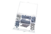Pumice Wheel Assortment, 72 Pieces, Item No. 11.465