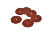"Adalox Sanding Discs, 7/8"" Diameter, Coarse Grit, Aluminum Oxide, Pin Hole Center, Item No. 10.01103"