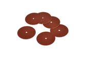 "Adalox Sanding Discs, 7/8"" Diameter, Coarse Grit, Aluminum Oxide, Pin Hole Center, Item No. 10.01103"