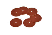 "Adalox Sanding Discs, 7/8"" Diameter, Medium Grit, Aluminum Oxide, Pin Hole Center, Item No. 10.01104"