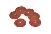"Adalox Sanding Discs, 7/8"" Diameter, Fine Grit, Aluminum Oxide, Pin Hole Center, Item No. 10.01105"