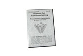 Princess Cut Gemstone Setting, Item No. 63.034