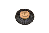 "Wood Hub Brush, 4 Rows of Bristle, 3"" Overall Diameter , Item No. 16.393"