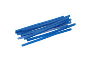 Blue Wax Wires, Square, Gauge 8, 2 oz. Box, Item No. 21.554