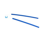 Cowdery Profile Wax, Channel, 1.5 MM, Blue, Item No. 21.946