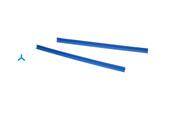Cowdery Profile Wax, 3 Prong, 8 MM, Blue, Item No. 21.937