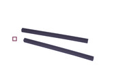 Cowdery Profile Wax, Square Tube, 2.5 MM, Purple, Item No. 21.974